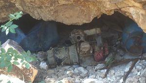 Erciş'te PKK/KCK terör örgütüne ait sığınak bulundu