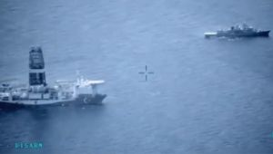 Türk Donanması Doğu Akdeniz'de