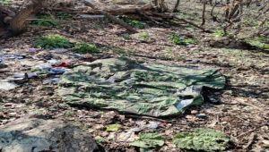 Hakurk'ta bölücü terör örgütüne ait mühimmat ve malzeme ele geçildi