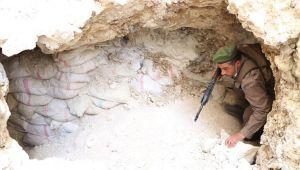 Suriye'de teröristlerin kullandığı 4 bin tünel, imha edildi