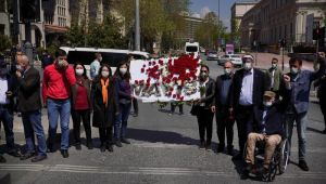 CHP, HDP ve TİP'den Taksim'de sosyal mesafesiz 1 Mayıs yürüyüşü