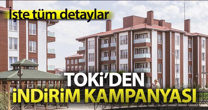 TOKİ'nin indirim kampanyası başlıyor