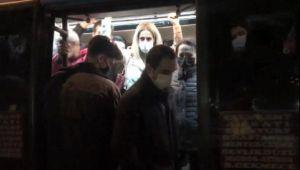 Minibüsten 14 yerine 41 yolcu çıktı