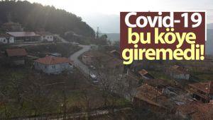Covid bu köye giremedi
