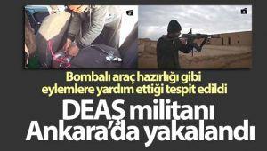 DEAŞ'lı terörist Ankara'da yakalandı