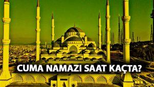 Cuma namazı saati Diyanet | Bugün İstanbul cuma namazı saat kaçta? 9 Nisan Cuma vakti