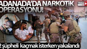 Adana narkotik operasyonu