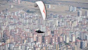 12'nci Ali Dağı Yamaç Paraşütü Mesafe Yarışması başladı