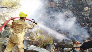 Kazdağları'ndan güzel haber: Yangın kontrol altına alındı