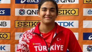 Milli atlet Ece Narttürk, Dünya 20 Yaş Altı Atletizm Şampiyonası'nda finale yükseldi