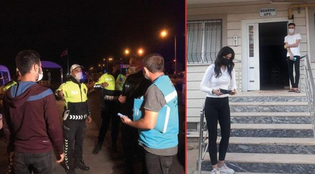 Kırıkkale'de karantina kurallarını ihlal eden 2 kişiye ceza uygulandı